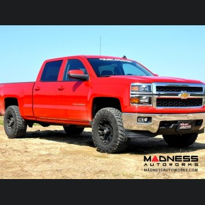 """Chevy Pickup 1500 4WD/2WD Leveling Lift Kit - 2"""" Lift - Red Billet Aluminum"""